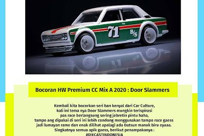 Bocoran Hot Whels Premium Car Culture Mix A 2020 : Door Slammers