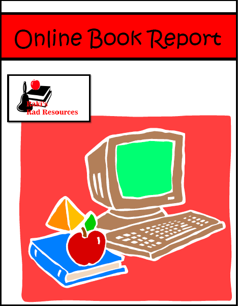 Free online book report - give students a technology alternative to the traditional book report - free download from Raki's Rad Resources.