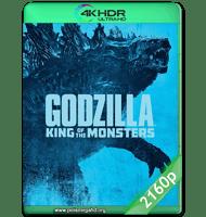 GODZILLA II: EL REY DE LOS MONSTRUOS (2019) WEB-DL 2160P HDR MKV ESPAÑOL LATINO