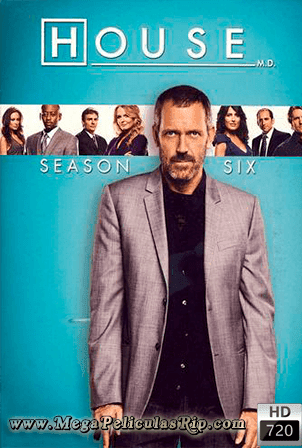 Dr. House Temporada 6 [720p] [Latino-Ingles] [MEGA]