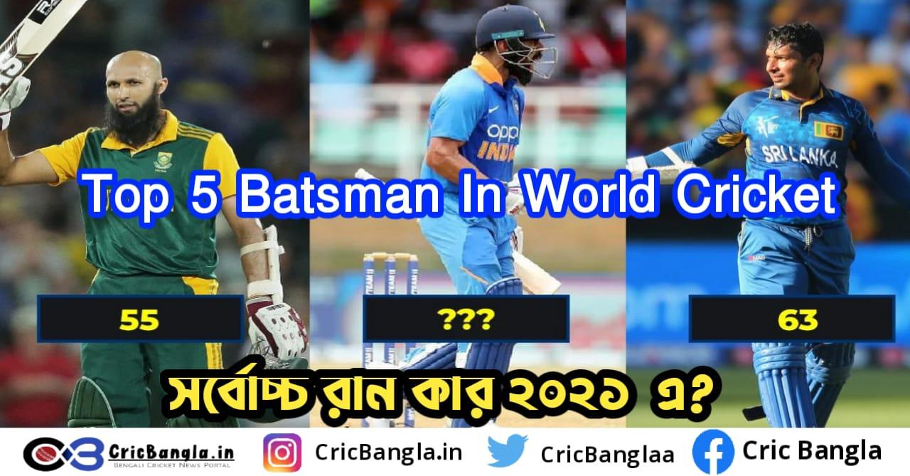 Top batsman in the world