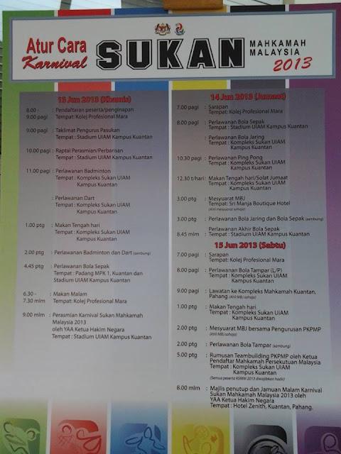 Nabihah Sejuta Rasa Karnival Sukan Mahkamah Malaysia Part 2
