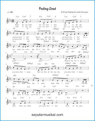 Feeling Good 1 chords jazz standar