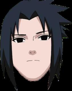 Head Sasuke PNG