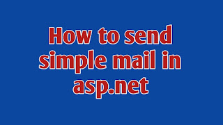 how to send mail with cc in asp.net, how to send simple mail in asp.net