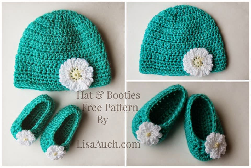 Free Crochet Patterns Baby Set Hat Booties and Dress | Free Crochet ...