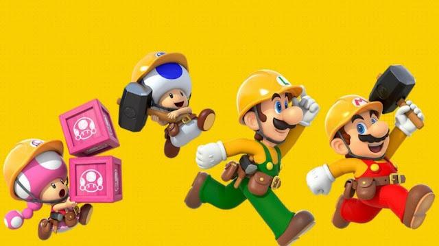 لعبة Super Mario Maker 2 هي اللعبة الأفضل مبيعاً في شهر يونيو