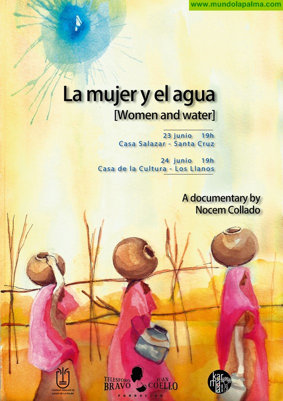 La directora de cine Nocem Collado presenta este fin de semana en La Palma el documental 'La mujer y el agua'