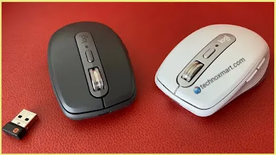 Logitech MX Anywhere 3 Wireless Mouse Launched With Customisable Side Buttons To Set Video Chat Settings