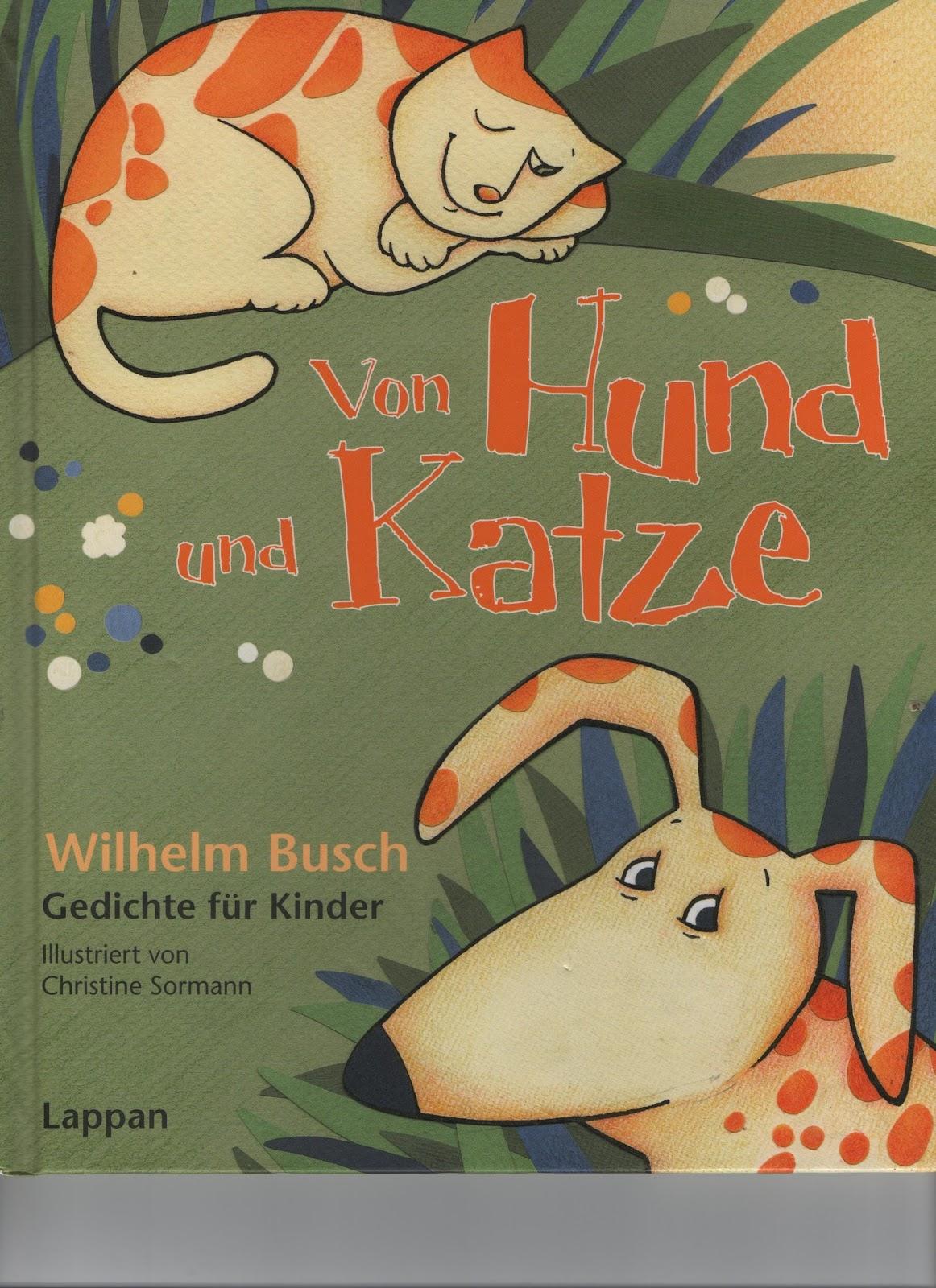 Kinderbuchkiste Von Hund Und Katz Wilhelm Busch Gedichte Fur