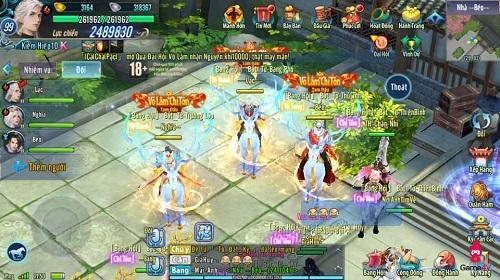 Chỗ đứng Võ Lâm Chí Tôn là mục tiêu sau cùng của mỗi game thủ tham gia đại hội