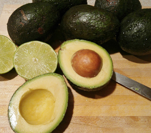 Avocados and lime for #Guacamole #foodie #summer