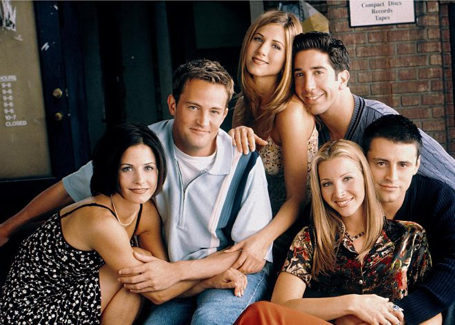 Courtney Cox comparte otra nueva foto inédita de Friends