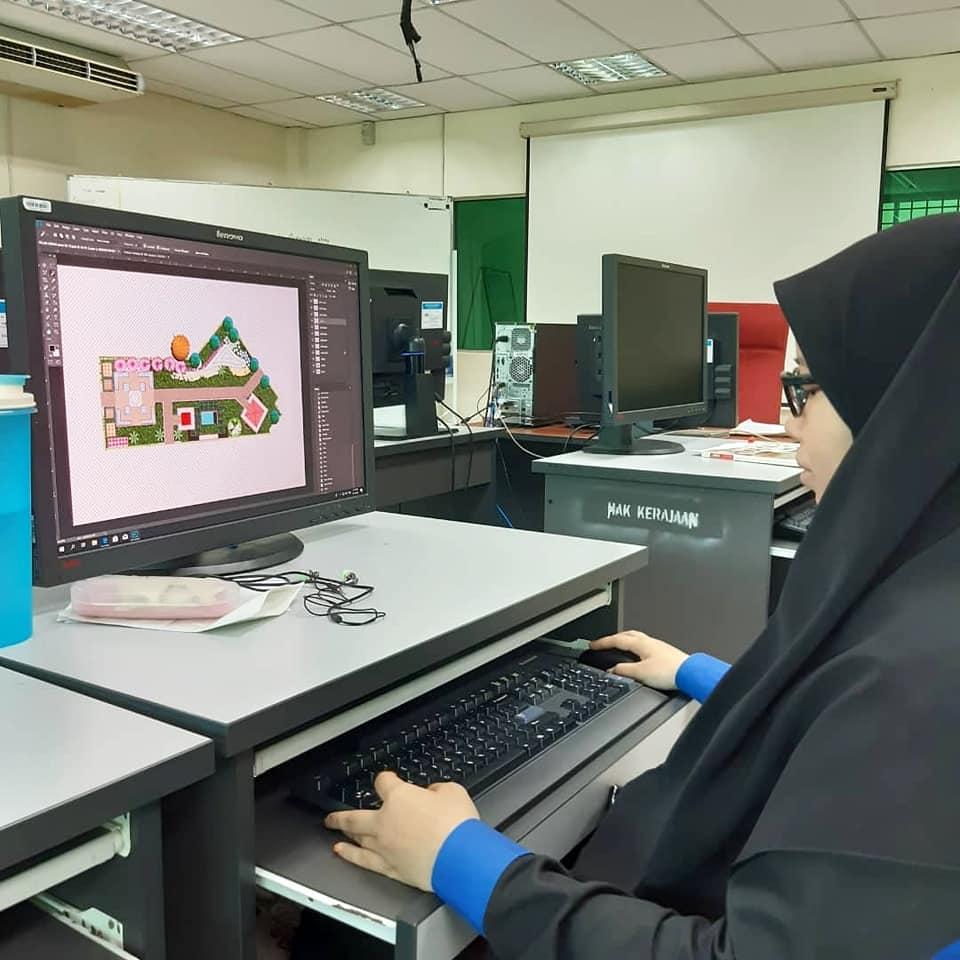 Unit Landskap Kolej Vokasional Dato Lela Maharaja Kelas Autocad 1 Diploma Senibina Landskap