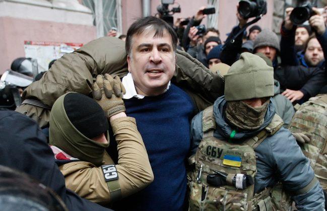 Святослав Цеголко опубликовал отсканированное письмо Саакашвили к Порошенко