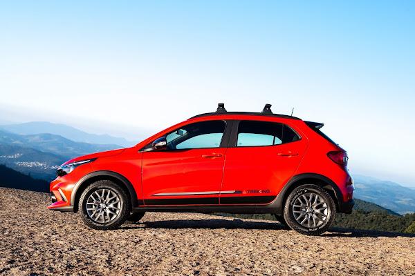 Fiat Argo - carro mais vendido do Brasil em 2021