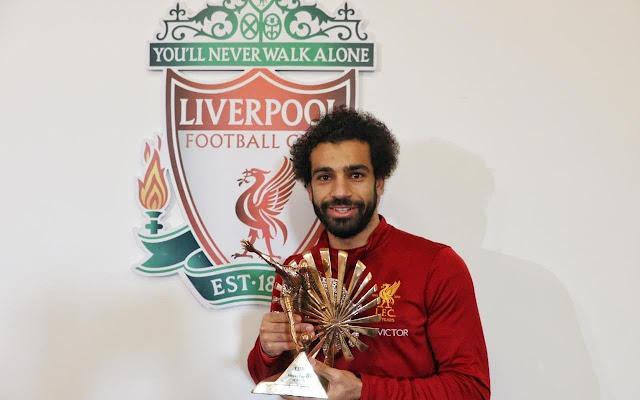 Salah wins BBC African footballer award