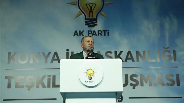 الطيب اردوغان : المستجدات في سوريا وشرقي المتوسط تعد مسألة مصير بالنسبة لتركيا