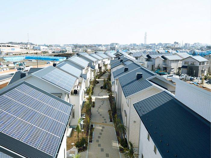 Eco-friendly smart city in Japan