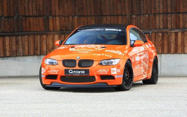 Foto Modifikasi Mobil BMW Orange