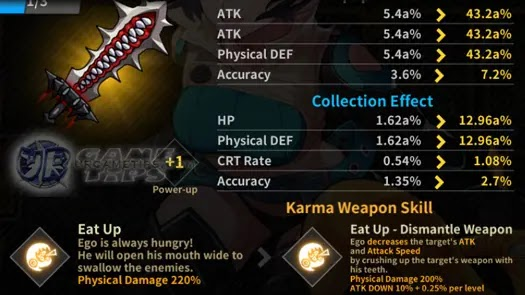 Lucid Adventure: Idle RPG - Sora Karma Weapon 1