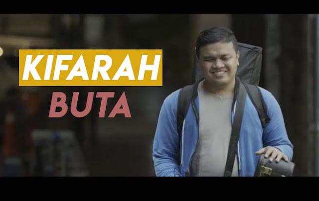 Telefilem Kifarah Buta (2020) Lakonan Azmi Saat, Farisha Iris dan Fadh Majid.
