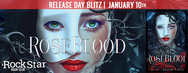 Roseblood release day blitz on Reading List