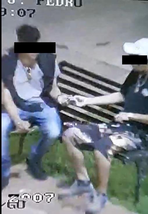 Rio Verde: Jovens são flagrados traficando drogas em praça