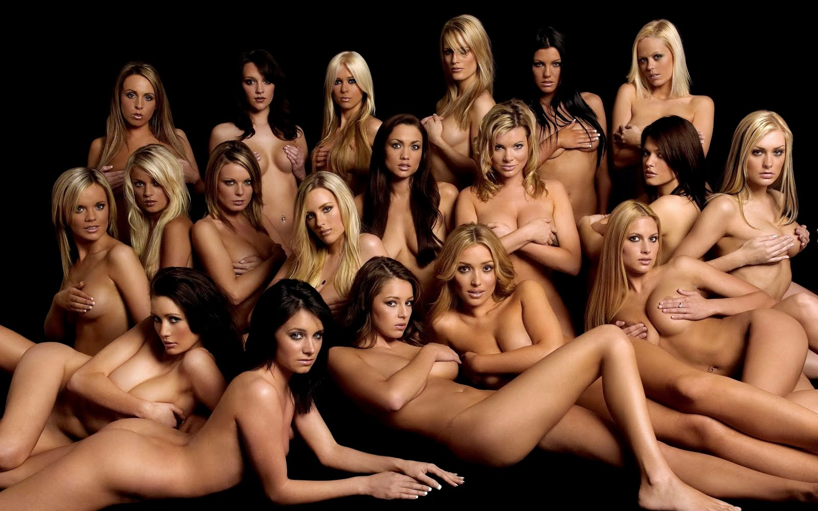 a lot of naked women