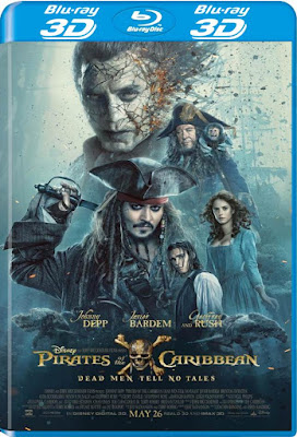 Pirates Of The Caribbean Dead Men Tell No Tales 2017 BD25 3D Latino