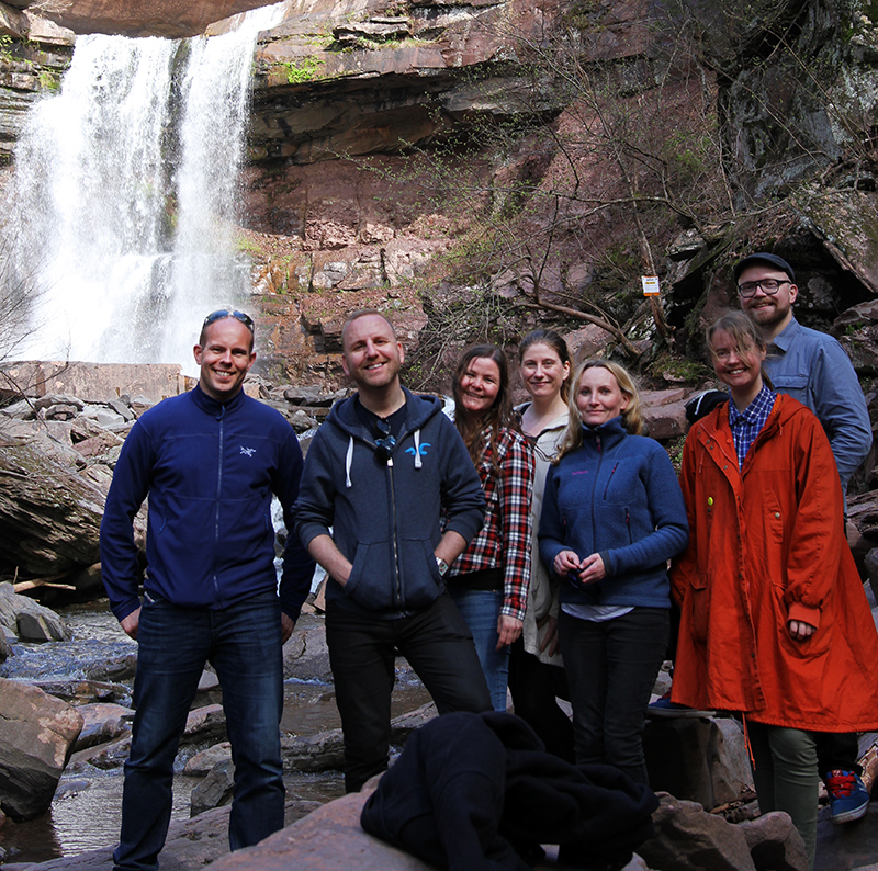 Veganreise New York Hiking Kaaterskill Falls