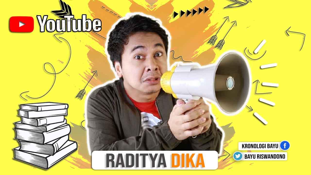 Profil Biodata Raditya Dika,Biografi Raditya Dika, Nama Lengkap dan  Agama Raditya Dika, Pendidikan Raditya Dika, Penghasilan Youtube Raditya Dika