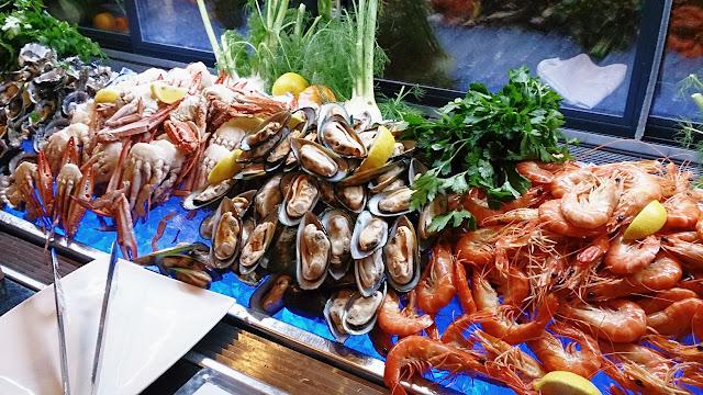 Melba, Langham Hotel, seafood