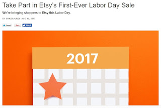 Etsy new sale tool