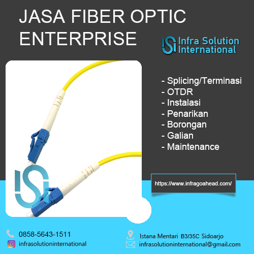 Jasa Splicing Fiber Optic Nganjuk Enterprise