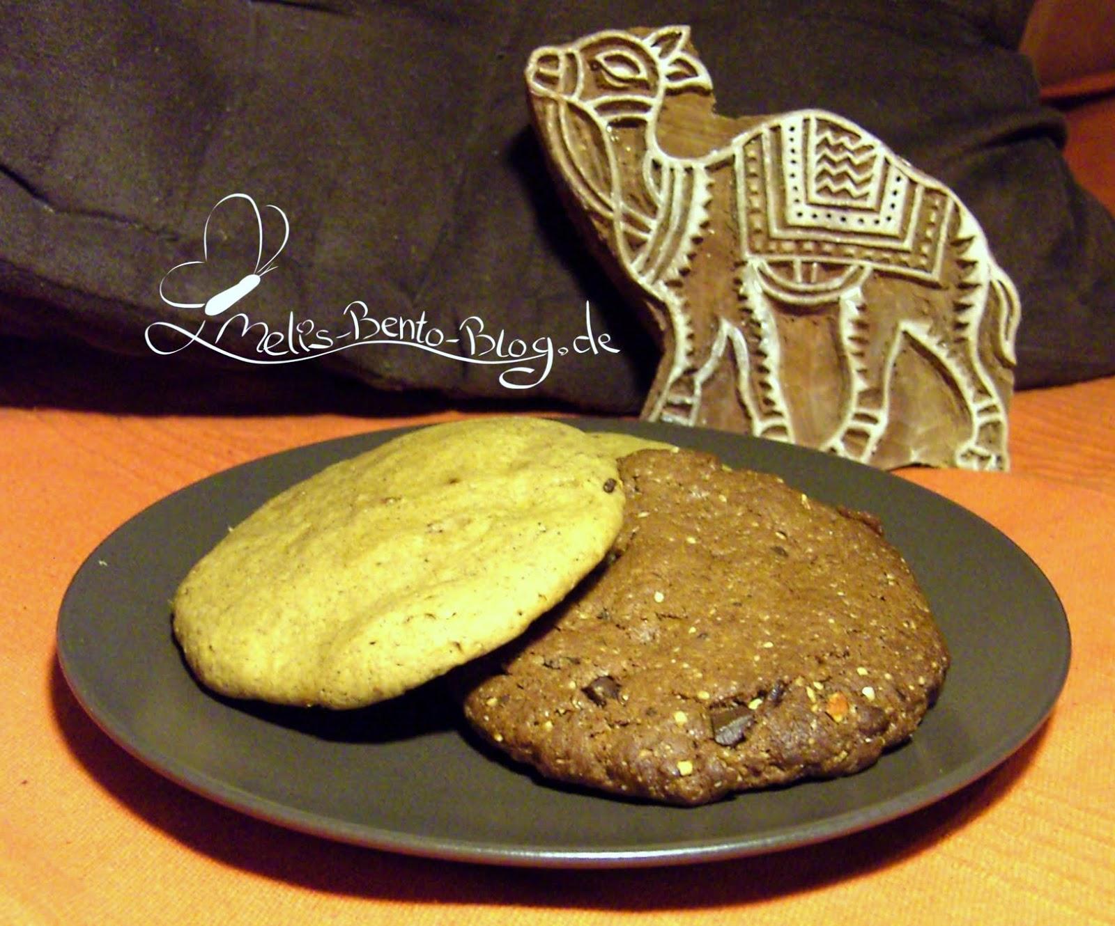 melis bento blog rezept 22 vegane cookies ingwer und schoki mit n ssen. Black Bedroom Furniture Sets. Home Design Ideas