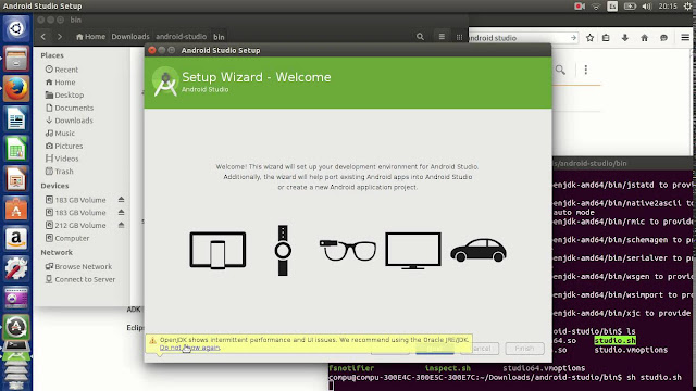 Como instalar o Android Studio no Ubuntu e derivados!