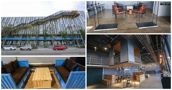 台中烏日|物流共和國台中園區|工業風的LR咖啡館|特別又好拍