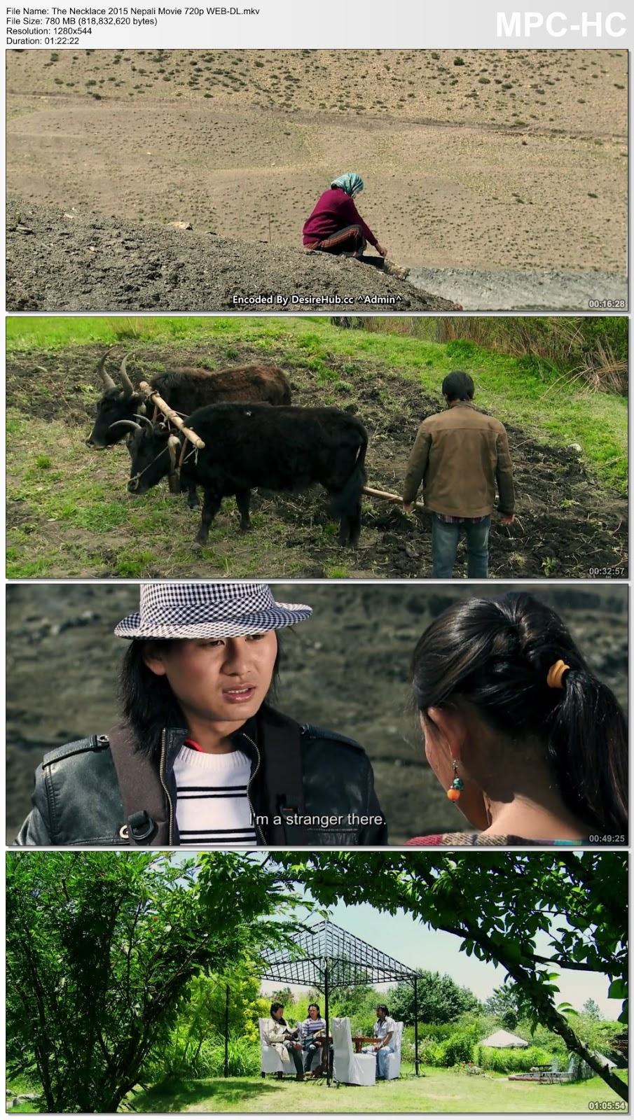 The Necklace 2015 Nepali Movie 720p WEB-DL 750MB Desirehub
