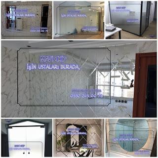 Alüminyum doğrama, Cam, Ayna, Ofis bölme, Panjur, Pergola, Sineklik, Pimapen, Demir Doğrama,  Işleri Merkezi