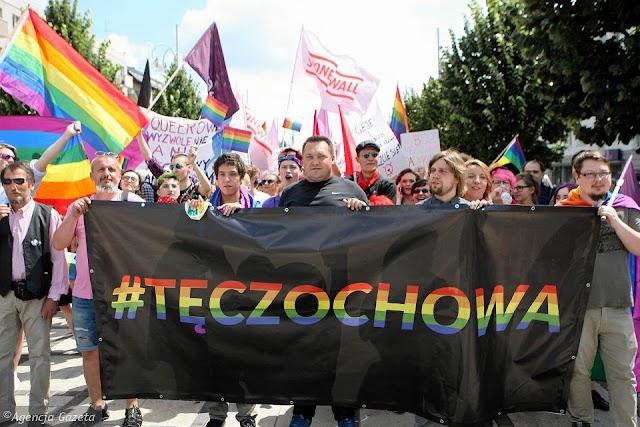 Radny PiS z Częstochowy szczuje kiboli na Marsz Równości i grozi rozlewem krwi