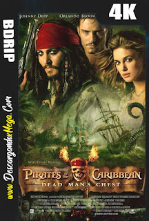 Piratas del Caribe El cofre de la muerte (2006) 4K UHD [HDR] Latino