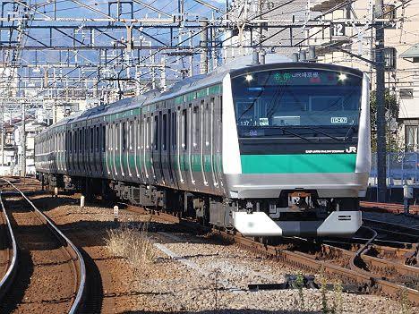 相鉄線 JR埼京線直通 各停 新宿行き1 E233系