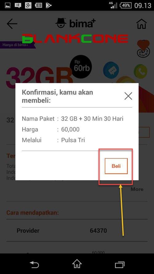 cara beli paket murah kartu tri internet 2020