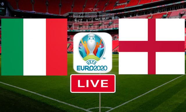 Match Italy vs England Live Streaming Final Euro 2020