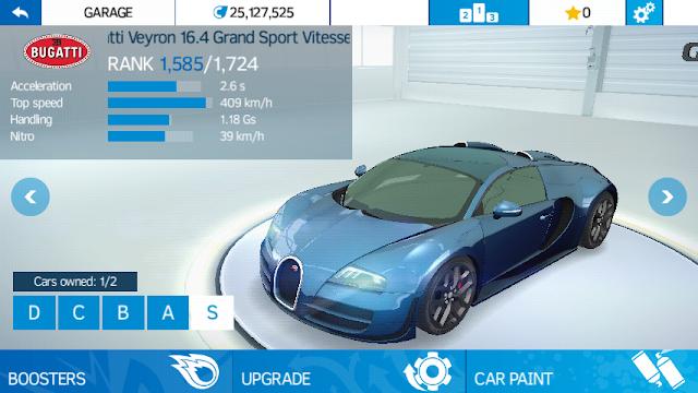 Asphalt Nitro 1.3.2 MOD APK For Android (Unlimited Money + Tokens + More) Download