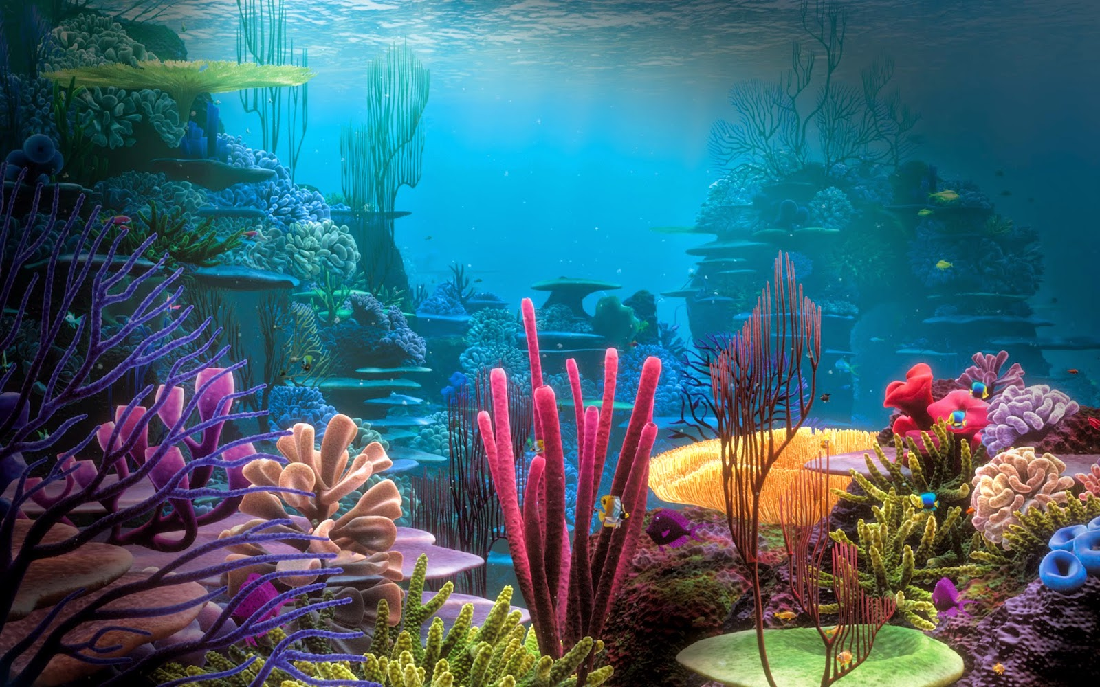 Mac OS X Wallpapers: Underwater Wallpaper Hd