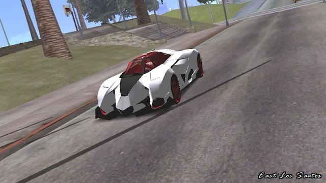 Lamborghini Egoista Concept Car Mod [DFF ONLY] gtaam download mod