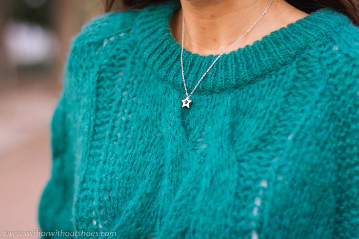 Colgante estrella plata de Leontina Alascio joyas made in Spain