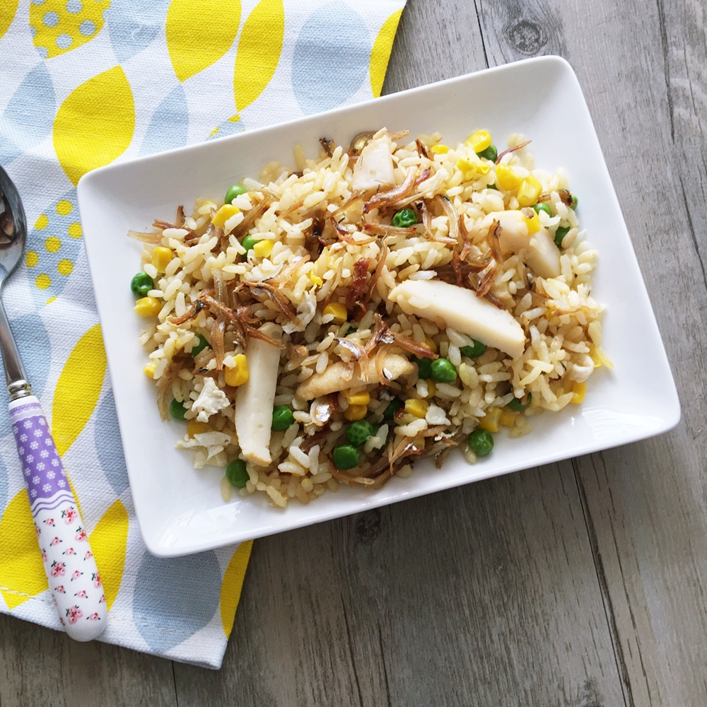 Ikan bilis fried rice cherie noms ikan bilis fried rice serves 2 3 adults ingredients ikan bilis about 12 to 34 of a rice bowl 1 cup of cooked rice 2 garlic cloves minced ccuart Gallery